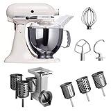KitchenAid Küchenmaschine Artisan weiß 5KSM150PSEWH (B0000C01S6 ...