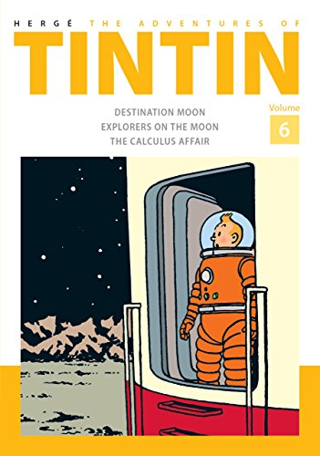 The adventures of Tintin Volume 6