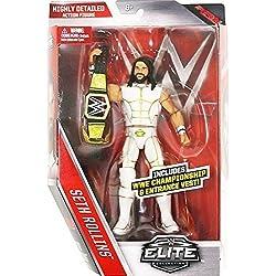WWE serie Elite 45 Action Figure - Bianco Abito Seth Rollins W/ WWE Campionato Cintura Accessorio
