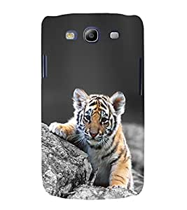 CUTE TIGER Designer Back Case Cover for Samsung Galaxy S3::Samsung Galaxy S3 i9300