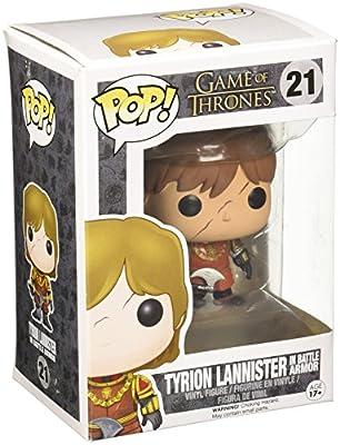POP Tyrion Lannister Scar & Battle Armour Vinyl Figure