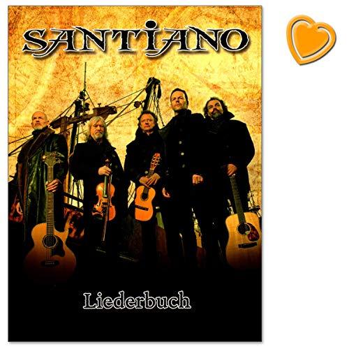 Santiano - libro canzoni per pianoforte, canto e chitarra, 16 hit finora più grandi di santiano, arrangiato