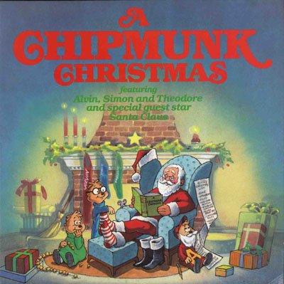 a chipmunk christmas LP