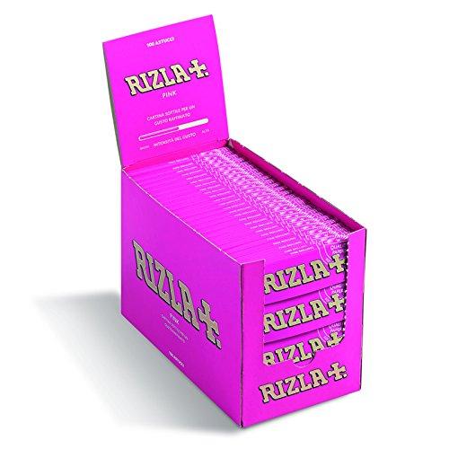 RIZLA 002709 Cartine per Sigarette Rosa