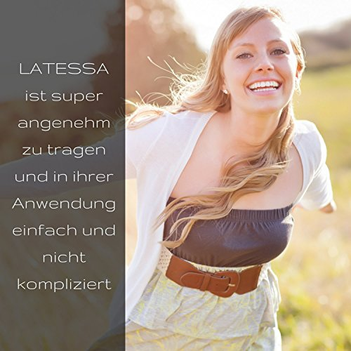 LATESSA Menstruationstasse - Made in Germany - geruchlos - farbstofffrei - medizinisches Silikon - Alternative zu Tampons und Binden - Menstruationstassen als nachhaltige Monatshygiene - Größe 1 - klein - 7