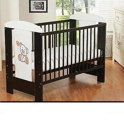 BEST FOR KIDS Cuna Cuna My Sweet Cuna marrón 120x60 3 partes sin colchón