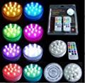 HLS 1 x 9 LED RGB ferngesteuerte Unterwasserbeleuchtung Floralyte LED Licht von HLS - Lampenhans.de