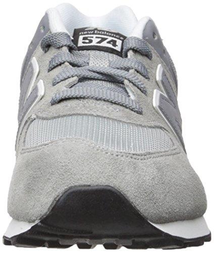 New Balance KL574 Camoscio Scarpa da Corsa Grey