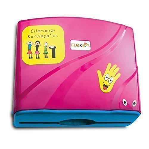 kids-paper-towel-dispensers-and-650-ml-liquid-soap-dispenser-spenderset-pink