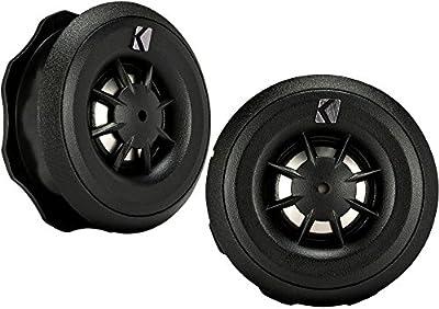 "Kicker 43CST204 3/4"" Titanium Dome Cs-Series Car Tweeters"