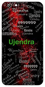 Ujendra (Conqueror) Name & Sign Printed All over customize & Personalized!! Protective back cover for your Smart Phone : Samsung Galaxy Alpha