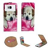 Handy Hülle für - Archos 50e / 50f Neon - Flip Tasche mit