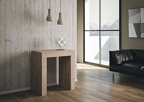 Group design consolle inside allungabile rovere natura in legno per ingresso ry-co/031-rn