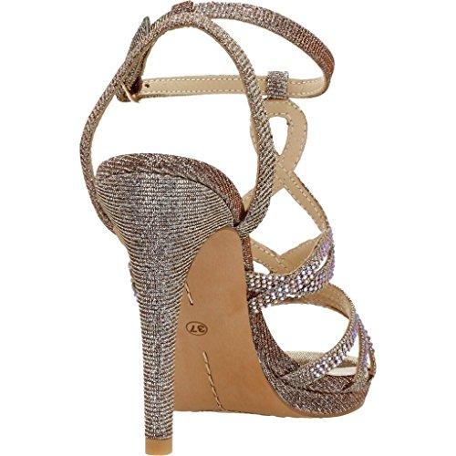 Damen Sandalen, farbe Metallic-Farbe , marke ALMA EN PENA, modell Damen Sandalen ALMA EN PENA V17107 Metallic-Farbe Bronze