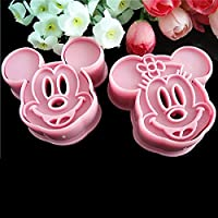 ASTrade Yolandabecool Cartoon Cookie Cutter Baking Mould Style-h