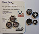 Shaving heads, NEW: LIFT & CUT HQ4 HQ5 HQ55 HQ56, suitable (fits) for Philips / Philishave / Norelco shavers