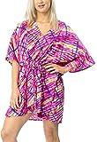 LA LEELA Costume da Bagno Costume da Bagno di Occultamento del Bikini Rosa_X792 IT Taglia: 46 (L) - 56 (2XL)