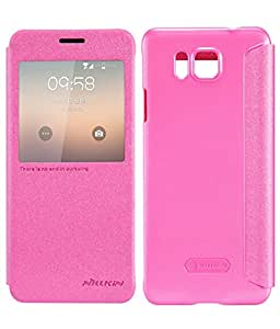 DIGIONE NILLKIN Sparkle Series Flip Cover For Samsung Galaxy Alpha G850 Pink