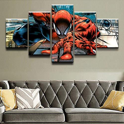 Cuadros En Lienzo Spiderman Imagen Impresa En Lienzo