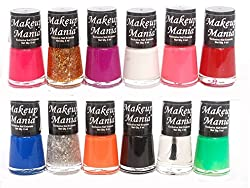 Makeup Mania Exclusive Nail Polish Set of 12 Pcs (Multicolor Set  73)