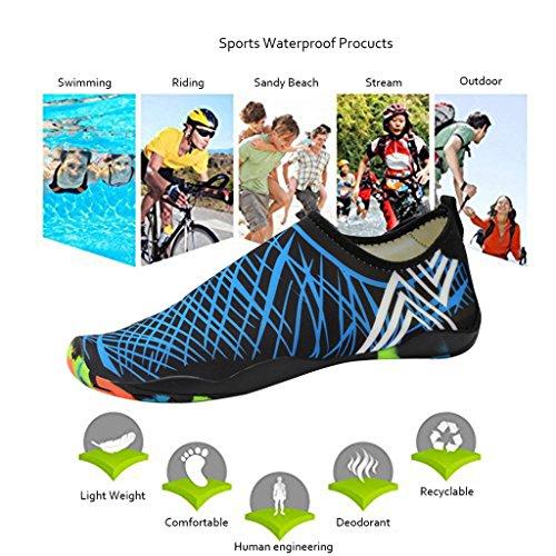 Scarpe Da Donna Geval Nuotare Aqua Light Acqua Sport Nero Ad Asciugatura Rapida