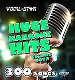 Vocal-Star Huge Karaoke Hits Vol 4 Karaoke Collection HD DVD Disc Pack 10 Discs - 300 Songs