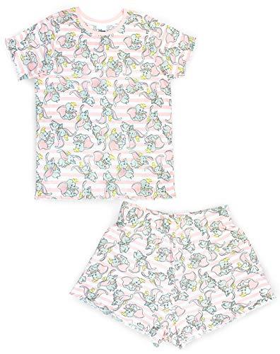 Disney Dumbo All Over Cute Women's/Ladies Pyjamas High Waist Short Set -