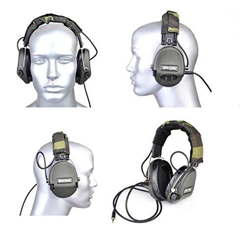 Z-Tactical Airsoft Sordin Radio Headset Comtac IPSC Ver Camo Sordin Z037
