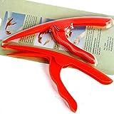 Providethebest Kunststoff-Garnele Peeler Meeresfrüchte Zangen Opener Küchenhelfer Shrimp Deveiner 0 9.5 * 20 * 1,3 cm