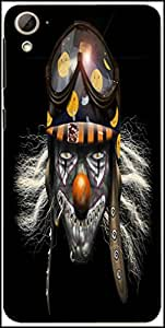 Snoogg Evil Clown Soldier 2625 Designer Protective Back Case Cover For HTC Desire 826