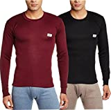 #10: Rupa Thermocot Multicolor thermal(Pack of 2) Men's Top