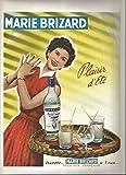 Publicité ancienne ( advertissing ) MARIE BRIZARD vers 1950