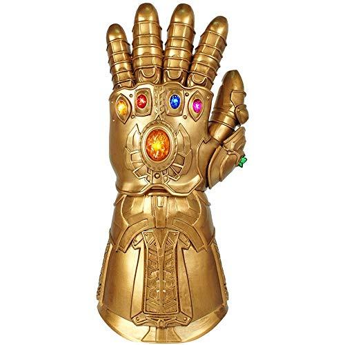 BLL Als Handschuhe können Avengers unendlichen Krieg, Edelsteinwaffen, 1: 1 tragbare Cosplay Requisiten leuchten