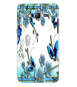 SAMSUNG GALAXY GRAND PRIME FLOWERS Back Cover by PRINTSWAG