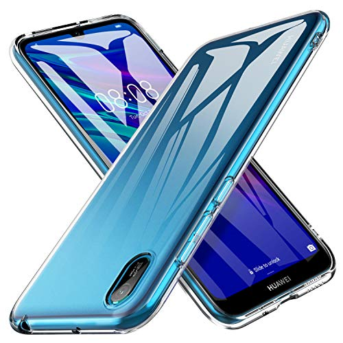 iBetter für Huawei Y5 2019 Hülle, für Huawei Y5 Prime 2019 Hülle, Soft TPU Ultradünn Cover [Slim-Fit] [Anti-Scratch] [Shock Absorption] passt für Huawei Y5 2019/Huawei Y5 Prime 2019 Smartphone
