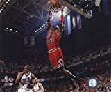Michael Jordan #23 of The Chicago Bulls Dunks The Ball Against The Utah Jazz During Game 3 of The 1997 NBA Finals at The Delta Center. June 6 1997 Photo Print (50,80 x 60,96 cm)