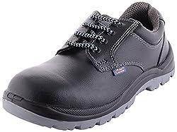 Allencooper Mens Black Leather Shoes - 6 UK