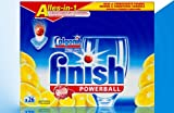 Calgonit finish Powerball Alles-in-1 Tabs Lemon 26 Stück (AA)