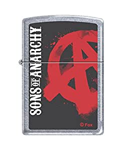 Zippo 50811327 Briquet Sons Of Anarchy 3,5 x 1 x 5,5 cm