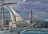 """Windjammer vor Warnemünde (Wandkalender 2019 DIN A3 quer): Windjammer und Segelschiffe zur """"Hanse Sail"""" vor Warnemünde (Monatskalender, 14 Seiten ) (CALVENDO Orte) - Peter Morgenroth"""