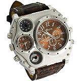 Readeel oul-7157m1065K–Uhr für Männer, Lederband braun