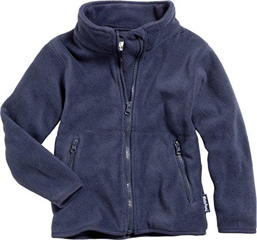 Playshoes Unisex - Kinder Jacke  Fleece-Jacke aus hochwertigem Fleece in blau oder pink von Playshoes, Art. 420011, Gr. 104 , Blau (11 marine ) (Fleece Jacke Kinder)