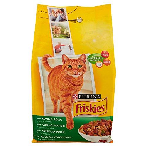 Purin Friskies Erwachsene Katze mit Hase, Huhn und Gemüse-4kg