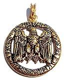 Germanenwappen Anhänger (Kettenanhänger in Gold)