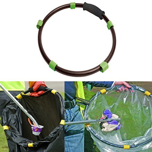 black-handy-hoop-ring-sack-bin-refuse-garbage-bag-holder-plastic-with-handle-new