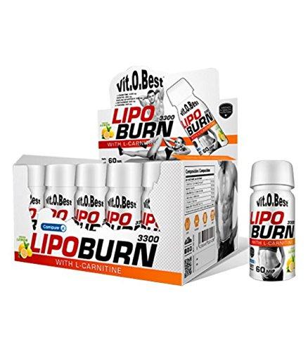 LIPOBURN 3300-20 Viales 60 ml LIMON