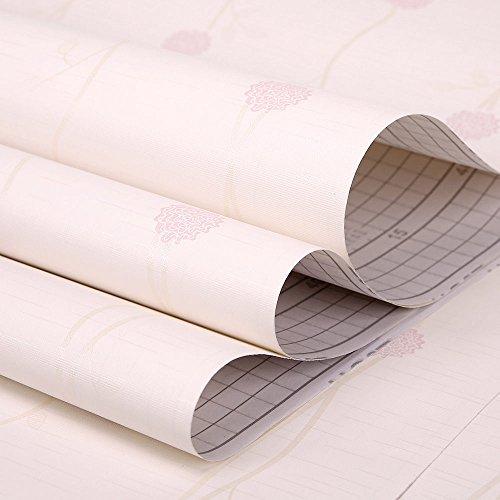 vanme-papier-peint-papier-peint-pvc-autocollant-sticker-mural-adhsif-45cm10m-fleur-sauvage-idyllique