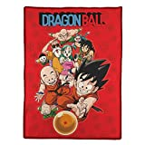 SD toys Personajes y Bola DB Manta Polar Dragon Ball Color...