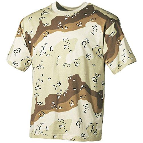 MFH T-Shirt 6-Color Desert Größe XXL -