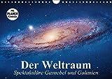 Der Weltraum. Spektakuläre Gasnebel und Galaxien (Wandkalender 2018 DIN A4 quer): Eine Reise in die wundervollen Weiten des Universums ... [Kalender] [Apr 07, 2017] Stanzer, Elisabeth - Elisabeth Stanzer